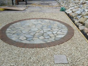 Full landscaping design job in Corfe