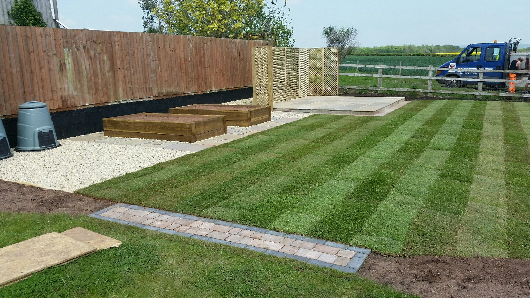 Landscaping design contractor in taunton somerset and for Garden design yeovil