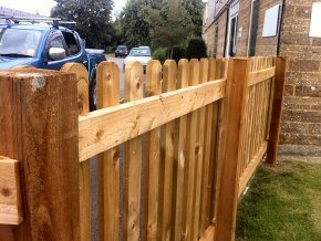 Picket Fencing at Neroche Primary School