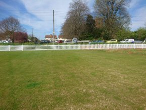 uPVC Picket Fencing - Work completed